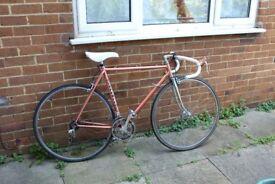 Vintage 12 speed 52cm Lapebie racing bicycle plus extras