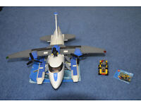 Lego City Police Plane 7723 & Mining Quad Set 30152