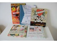 Burlesque and Vintage-Style books