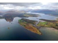 5 star Scottish private island hotel seeks couple- Housekeeping and Food and Beverage