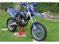 SHERCO ENDURO 450cc FUEL INJECTED. CLEAN BIKE