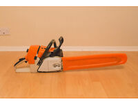 Stihl MS461 chainsaw with 20 inch bar 01.2016 model