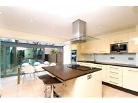 Four bedroom house with a private garden in the heart of the Moore Park Estate, Fulham Broadway.