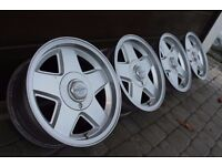 "15"" rare RONAL R5 alloys 4x108 FORD fiesta escort xr2i xr3i ka courier RS turbo fusion AUDI 80"