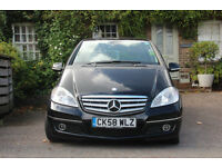 Merecedes A-Class 160CDI Elegance SE in Black Metallic with Low Mileage