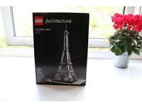 LEGO Architecture Eiffel Tower. Top condition!