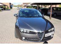 Alfa Romeo 159 2.4 (57 reg) 210 BHP