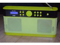 DAB DIGITAL RADIO WITH POWER ADAPTER/DAB ANTENNA