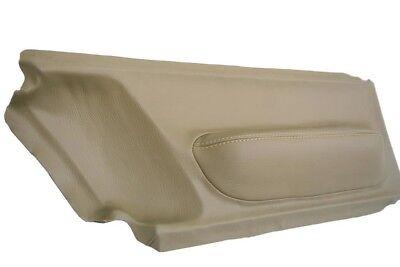 Insert Door Panel Leather Synthetic for Volkswagen Beetle 98-10 Beige