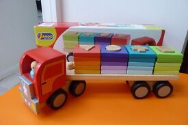 Janod Wooden Shape Sorting Lorry