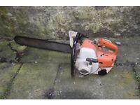 Stihl 08 S Chainsaw in working condition with original parts. Bristol