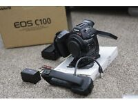 Canon C100 body only