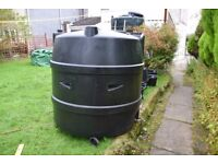 1000 litre single skin oil tank