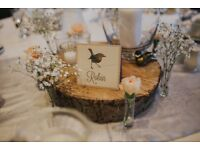 71 x Individual Flower Bud Vases - Wedding Table Decoration