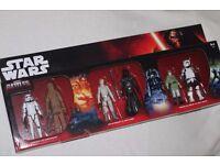 "6 x Star Wars 3.75"" figures (ORIGINAL TRILOGY - EPIC BATTLES PACK inc LUKE / LEIA / CHEWBACCA) - NEW"