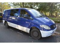 Mercedes Vito Camper van - perfect little van - MOT June 2018