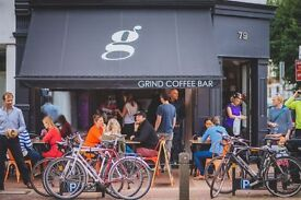 Experienced Full Time Waiting Staff needed for Putney's Favourite Coffee Shop