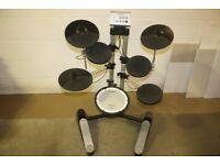 Roland HD-1 Electronic Drum Kit including Headphones + Sticks + Stool