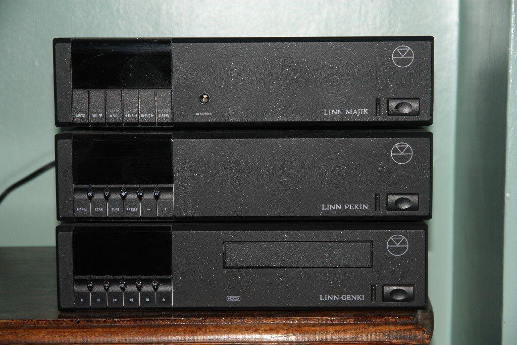 linn amplifier tuner cd player