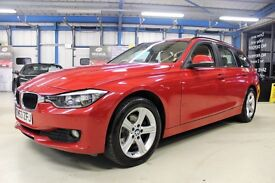 BMW 320d XDRIVE SE TOURING [NAV / LEATHER / 1 OWNER / 4WD] (melbourne red) 2013