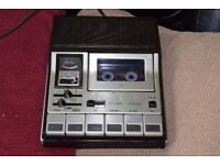 GRUNDIG CASSETTE/RECORD PLAYER/MIC BUILT IN CAN BE SEEN WORKING