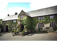 2 Chef jobs with a difference - The Oxenham Arms Devon -20 mins from Exeter
