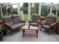 Get ready for summer! Four piece Conservatory Furniture at BARGAIN price.