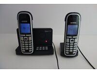 Siemens Gigaset C475 twin cordless phones & answer machine