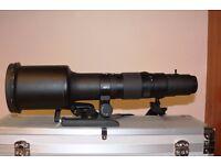 Sigma 1000mm F8 Canon mount