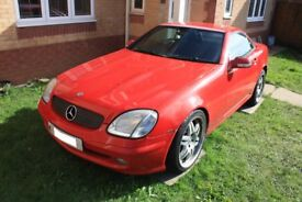 MERCEDES SLK 2.0 KOMPRESSOR 2000 - MOT until End Of May 2019 ***MAKE AN OFFER***