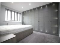 HUGE LUXURIOUS TWO DOUBLE BED GARDEN FLAT WITH PARKING- HATTON CROSS FELTHAM CRANFORD HEATHROW