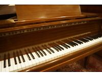 Very small baby grand piano. Tuned & delivery available U.K. Wide