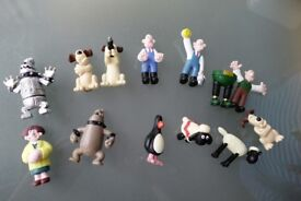 13 WALLACE & GROMIT FIGURES
