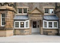 Beautifully presented studio in iconic location in the Quartermile district of Edinburgh.