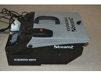 Beamz ICE1200 MKII Low Fog/Dry Ice Effect Machine