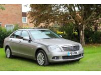 2007 New shape Mercedes C220cdi Diesel Auto, Long Mot, Leather, Genuine Low miles 41K, Lovely car