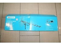 New Outdoor / Loft 52 Element TV aerial from homebase