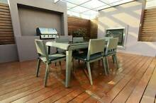 Wicker Outdoor Furniture Dining 7pc Set Table Chairs Cushion W6 Hume Area Preview