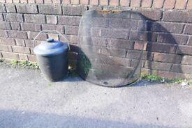FREE! Coal bucket and fireguard