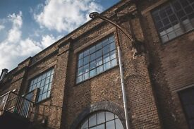 Spacious studio / office / workshops available in Docklands Victorian warehouse conversion