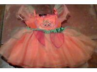 Pumpkin Halloween dress 1-2yrs