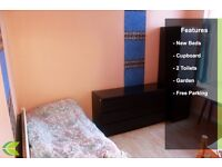 CHEAP LARGE ROOMS AVAILABLE NOW- FURNISHED