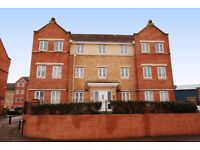 Modern, 2 Bedroom top floor apartment. Large living space. Kitchen/dining room. White goods included