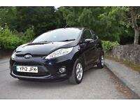 2012 Ford Fiesta 1.6 TDCI Zetec One Owner , Full Service History £0 Road Tax