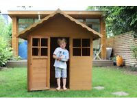 Wooden Play House & Wooden Water/Sand Pit Play Table - Acton, West London