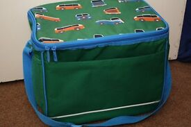 Large Green Colapsible Picnic/Cooler Bag