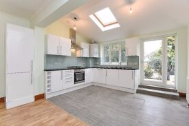 A recently renovated five bedroom semi-detached house to rent in Surbiton. Beresford Avenue.