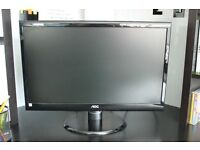 AOC 21.5 inch Widescreen Multimedia LED Monitor