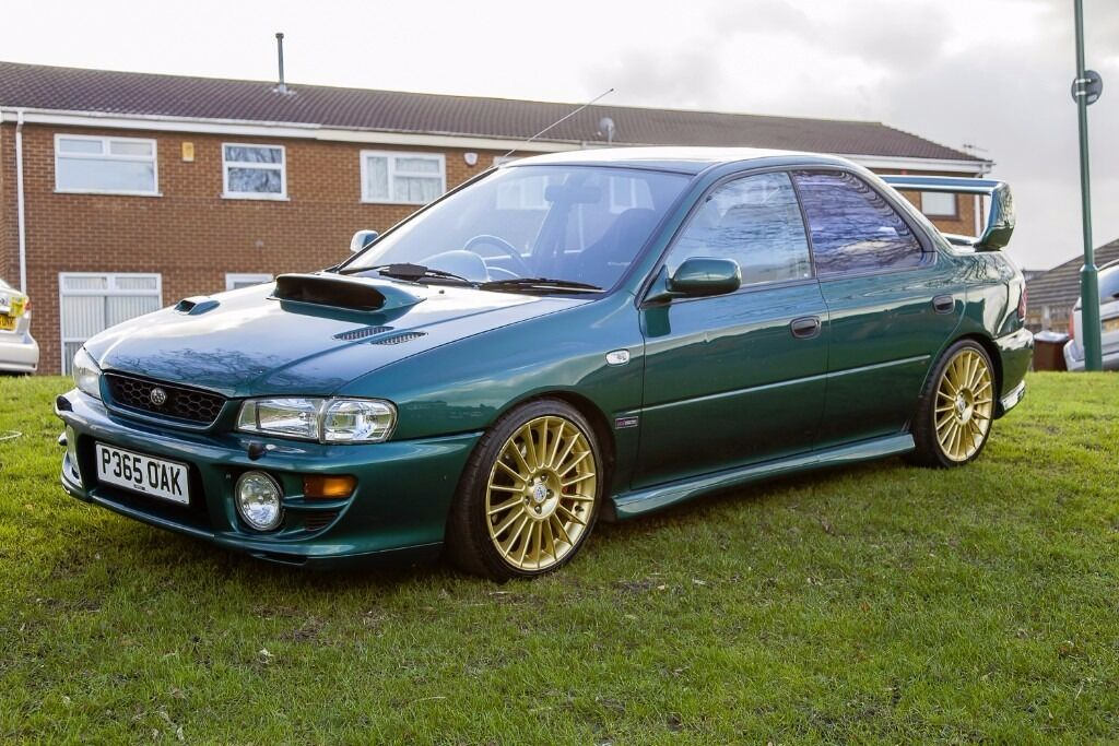 1997 Subaru Impreza 2 0 Turbo 2000 Wrx 12 Months Mot V5