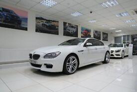 BMW 6 SERIES GRAN COUPE 3.0 640d M Sport Gran Coupe 4dr Auto (white) 2013